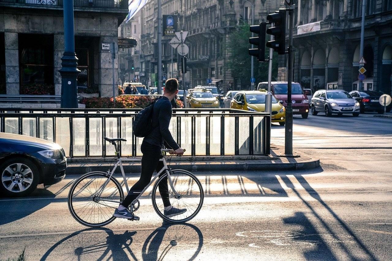 budapest boulevard körút bicycle