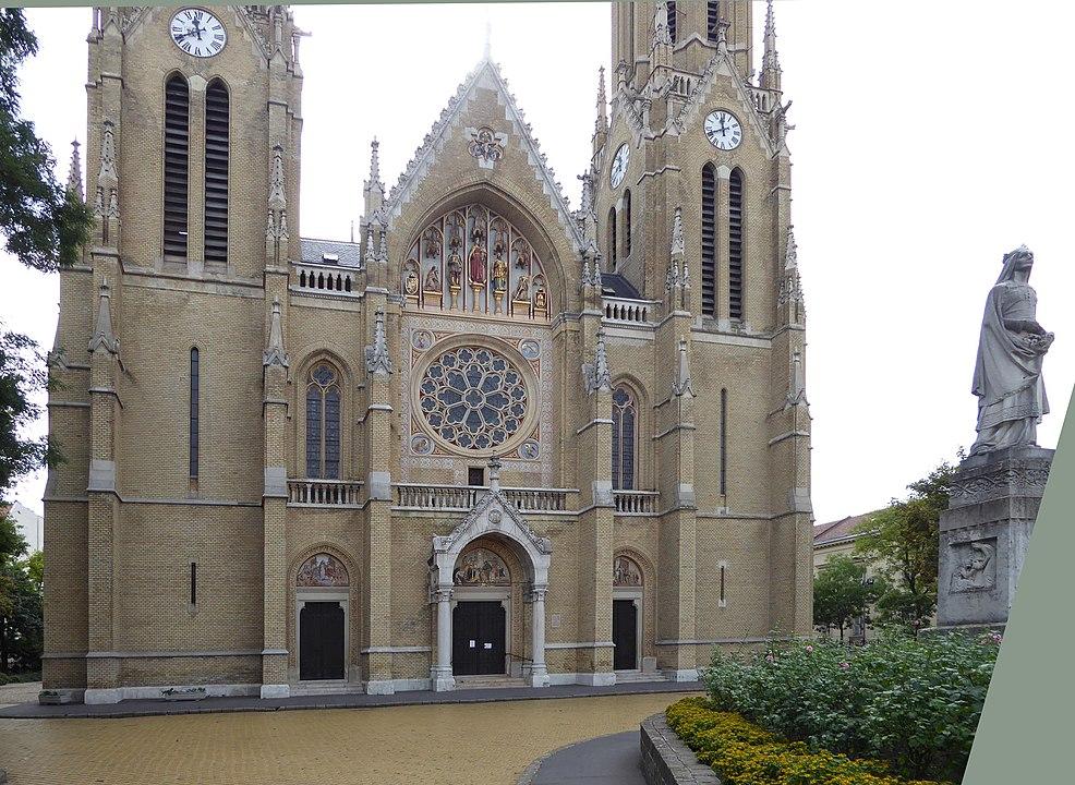 Budapest, Hungary, Church, Rózsák Square