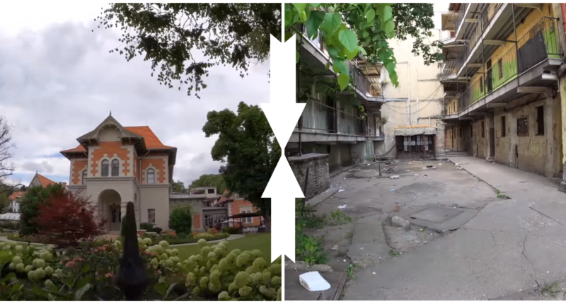 Budapest poor vs rich