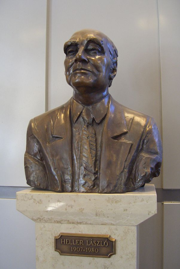 Bust of László Heller-Budapest Technical University-Hungary