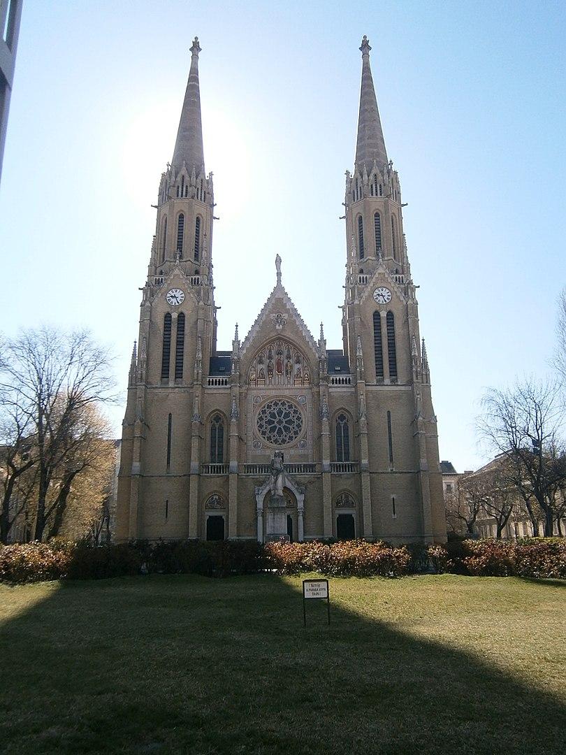 Church, Rózsák Square