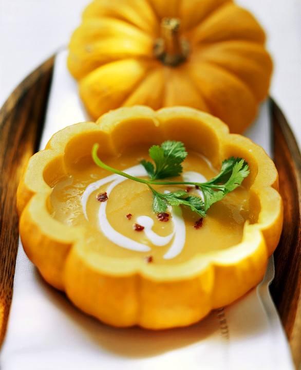 Soupe crémeuse à la citrouille-recette-nourriture-1