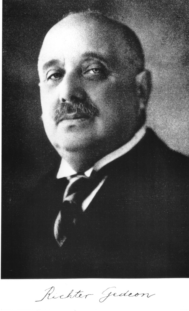 Gédéon Richter Portré