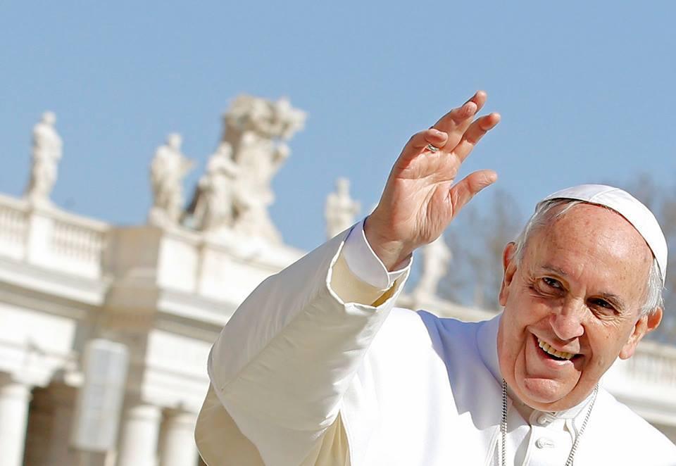 Prêtre hongrois le pape François