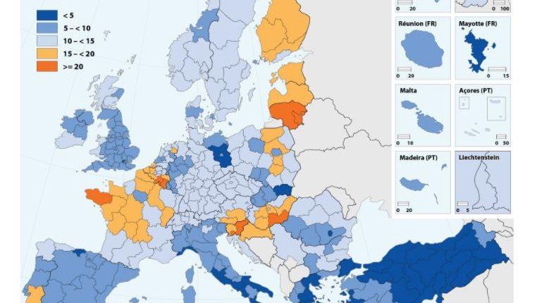Eurostat statistics suicide