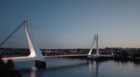 New Danube Bridge-Budapest-Hungary