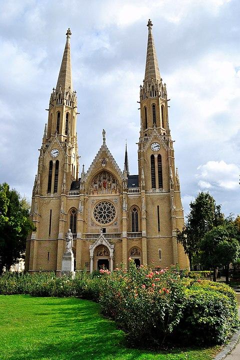 Rózsák Square, Budapest, Church