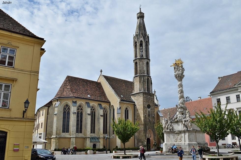 Sopron Kecske-templom Benedictine Church