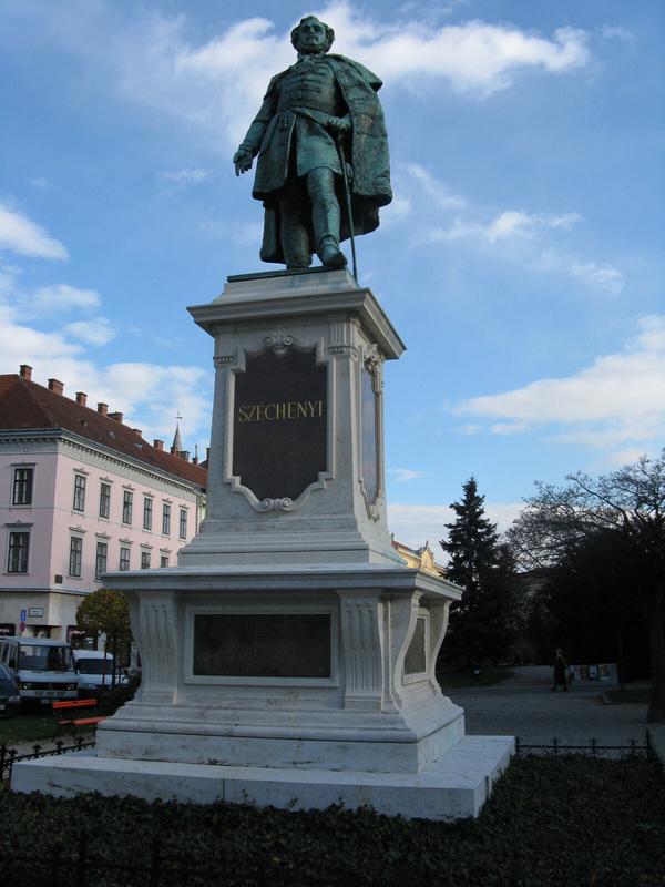 Sopron Széchenyi Statue Square