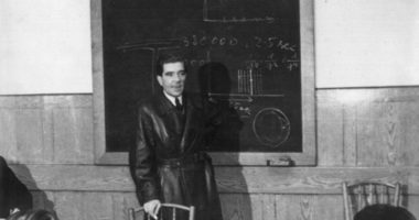Zoltán Bay's presentation about Moon-radar