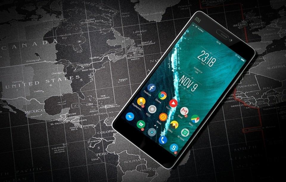 carte de téléphone Android