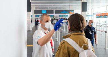 budapest airport coronavirus