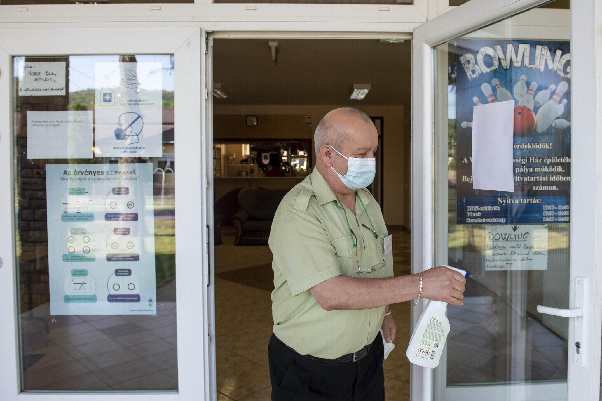 hungary coronavirus cleaning
