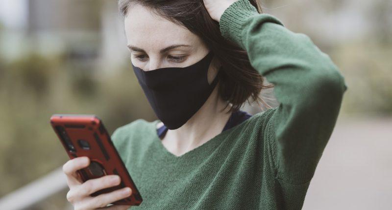 mask phone coronavirus