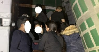 police illegal migrants in csanád