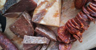 sausage bacon hungarian dish traditional food