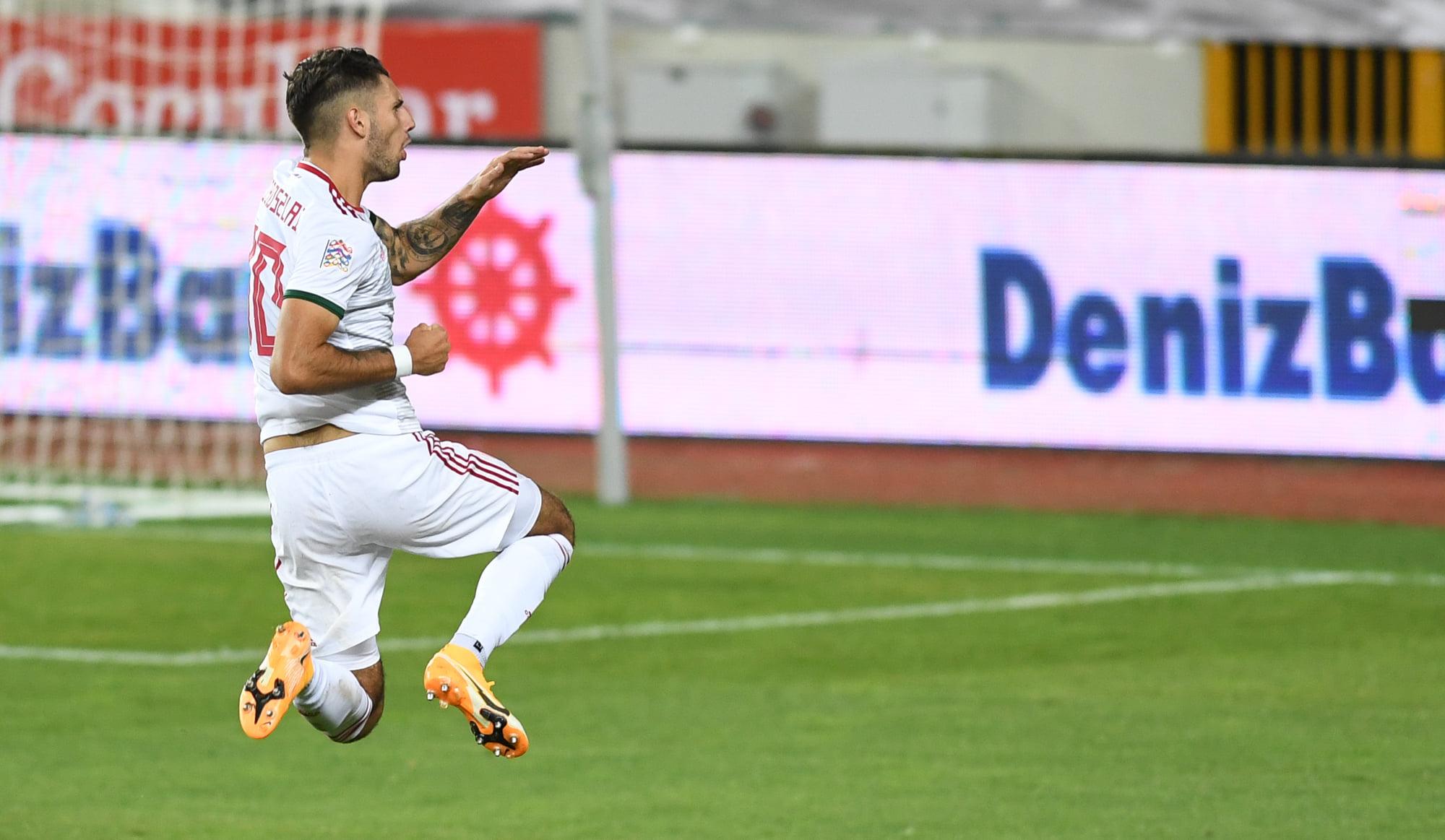 szoboszlai goal against turkey