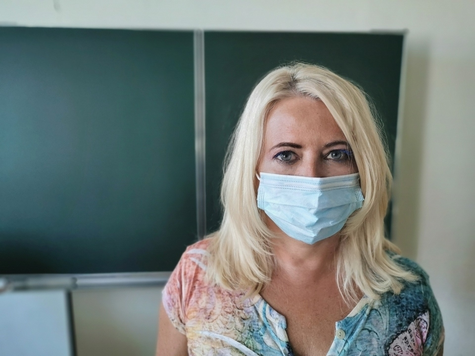 teacher mask