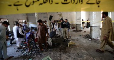 7 killed, over 120 injured in bomb explosion at seminary in NW Pakistan