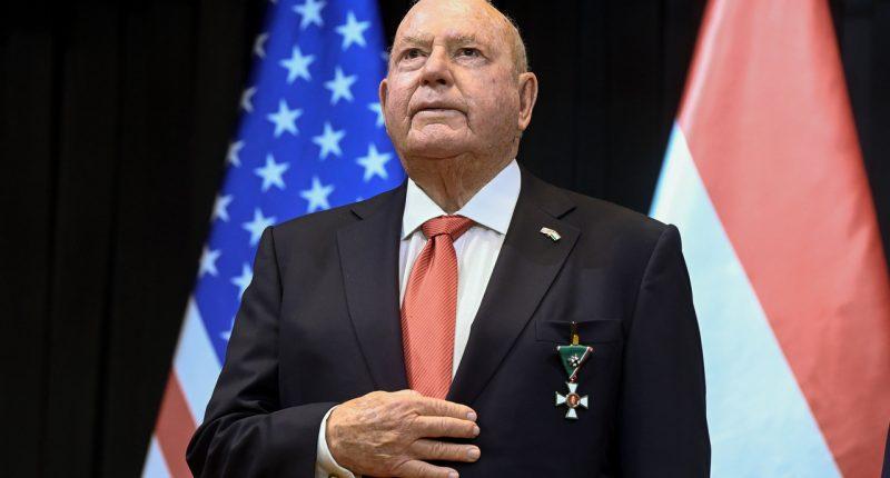 US Ambassador Cornstein