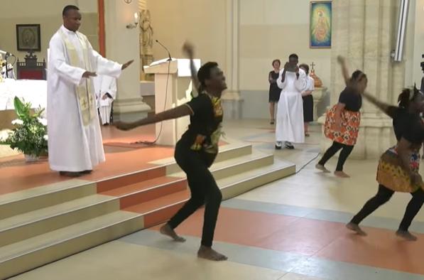 Hungary church priest Africa