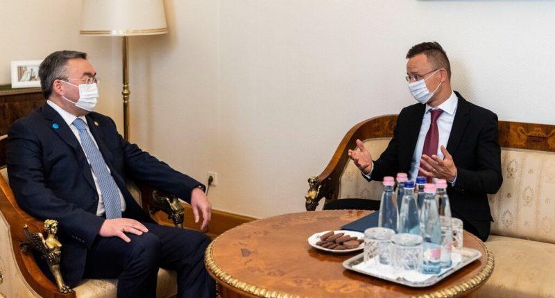 Hungary diplomacy Kazakhstan Asia