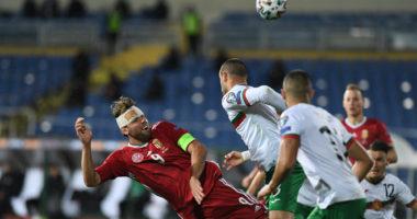 Hungary football EURO 2020 Bulgaria