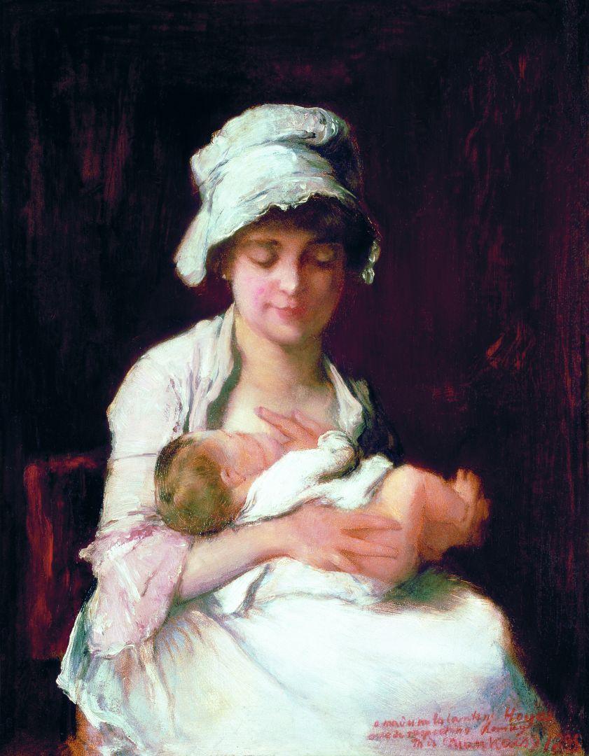Munkácsy Anyai ösztön tanulmány