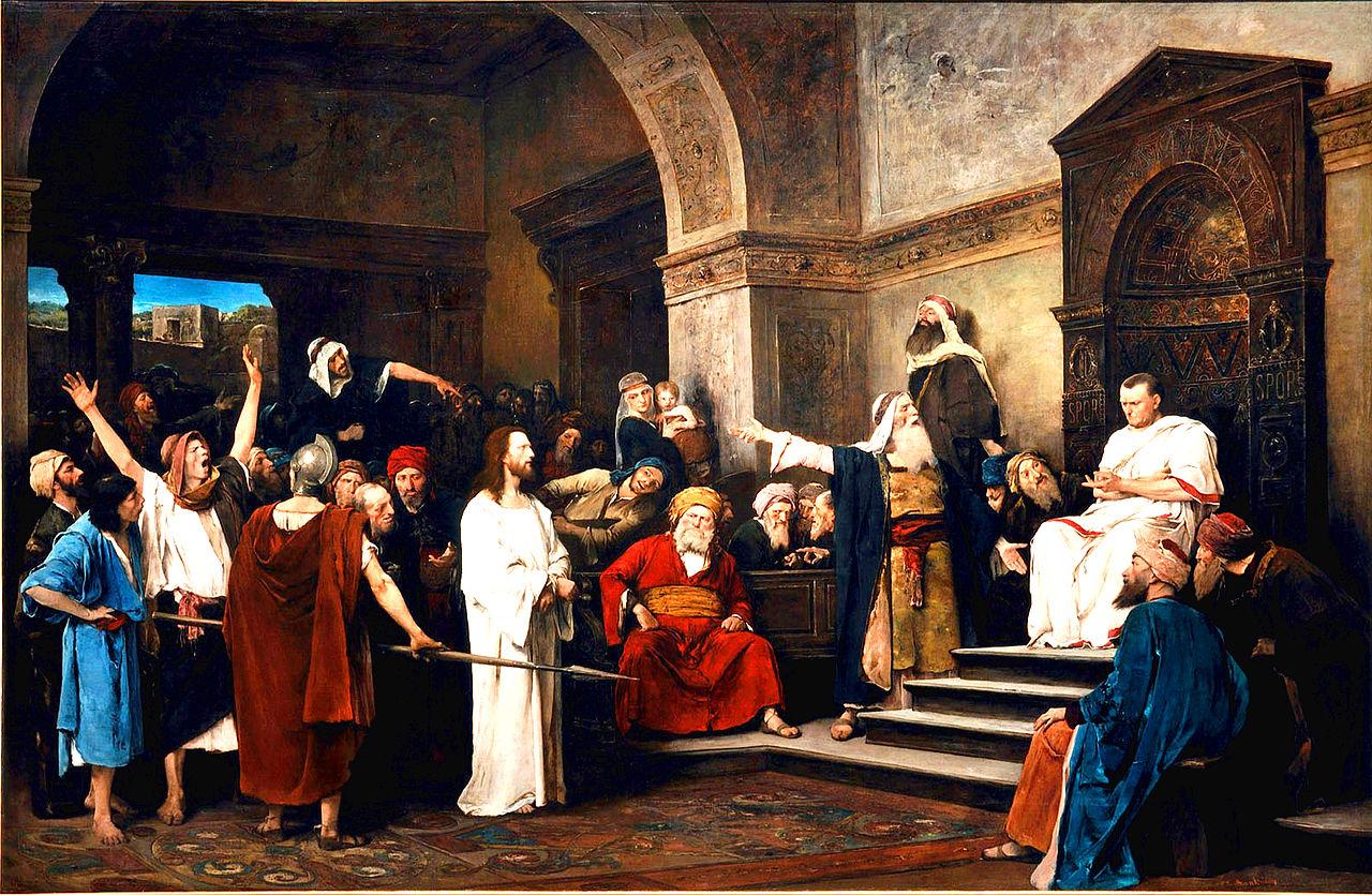 Munkácsy Christ before Pilate