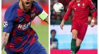 Ronaldo Messi football Budapest