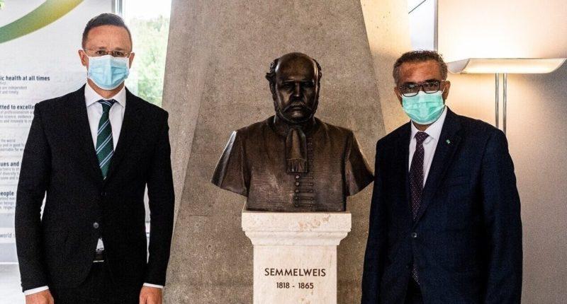 WHO Director-General Tedros Adhanom Ghebreyesus in Geneva