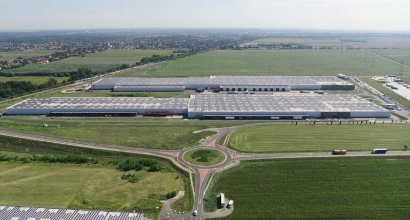 Audi solar plant inauguration in Győr