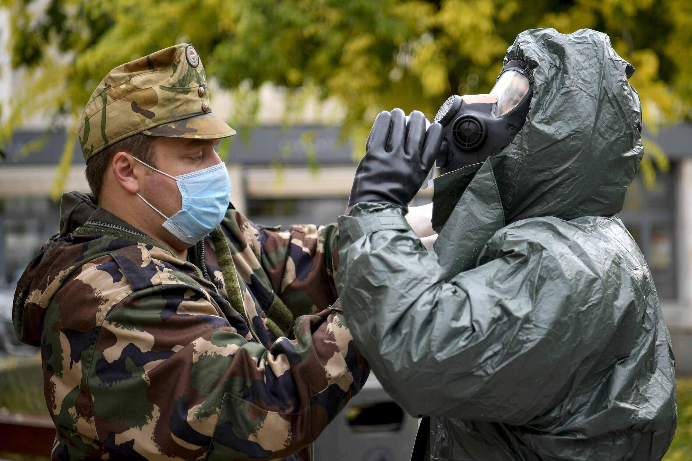 coronavirus hungary military