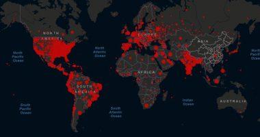 coronavirus over the world