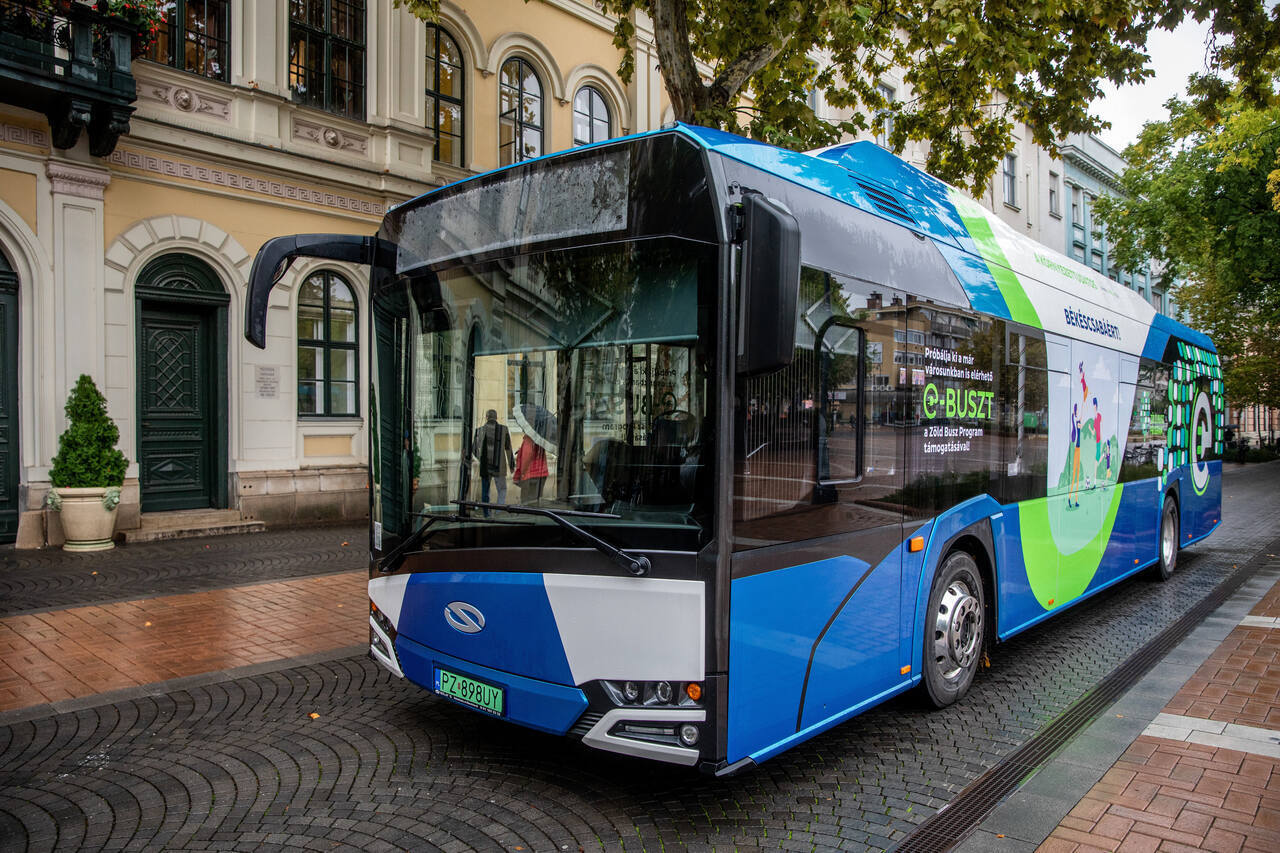 electric bus Hungary