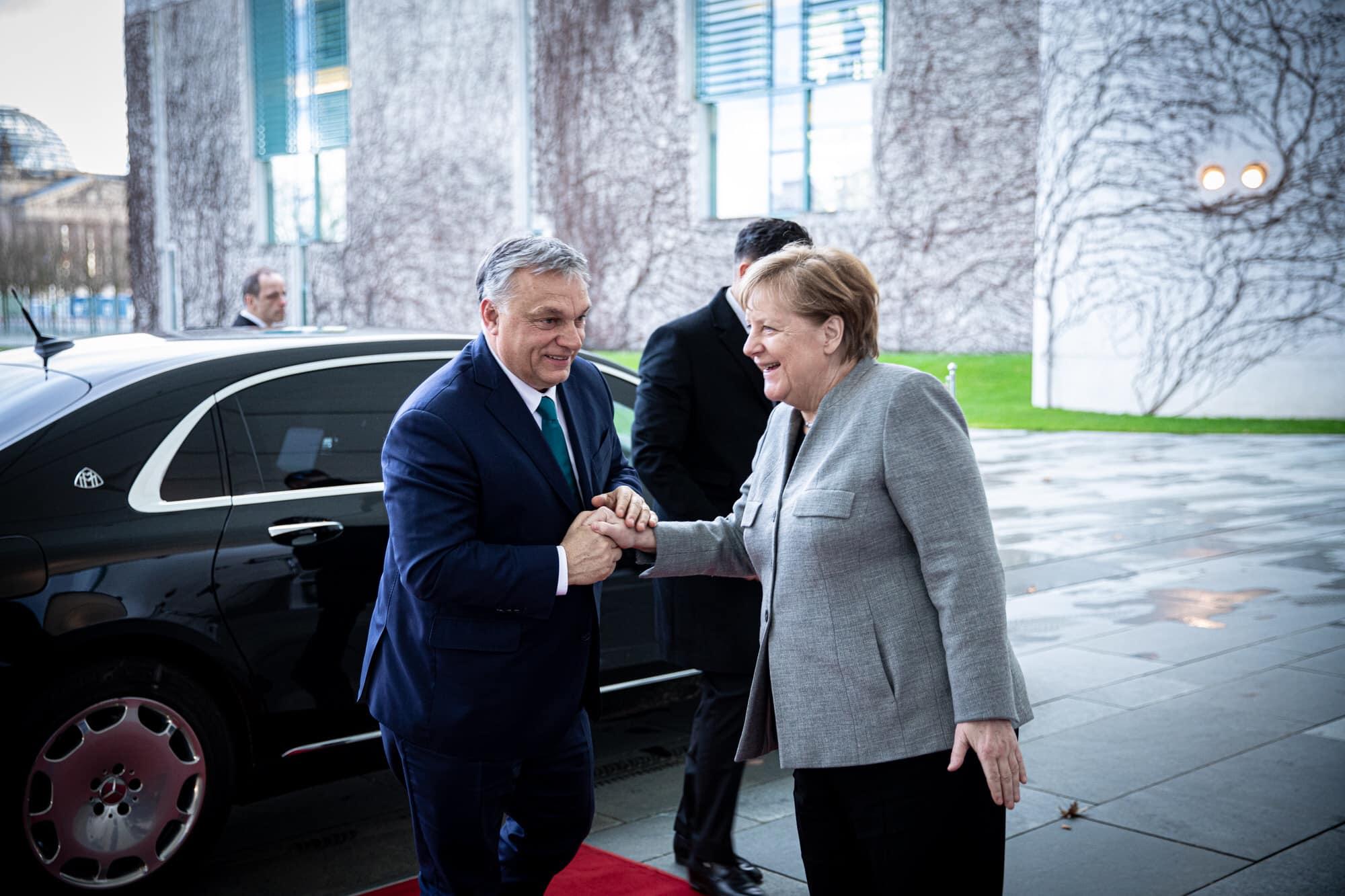 orbán merkel meeting