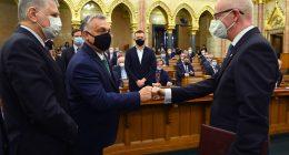 Hungary Curia court parliament