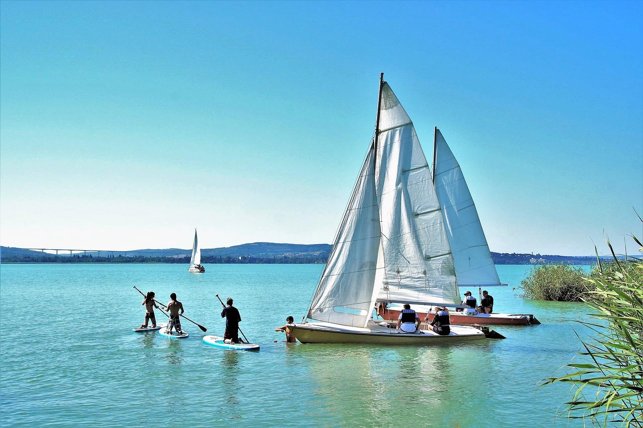 sailing-boat-lake balaton hungary
