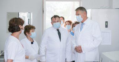 Klaus Iohannis hospital