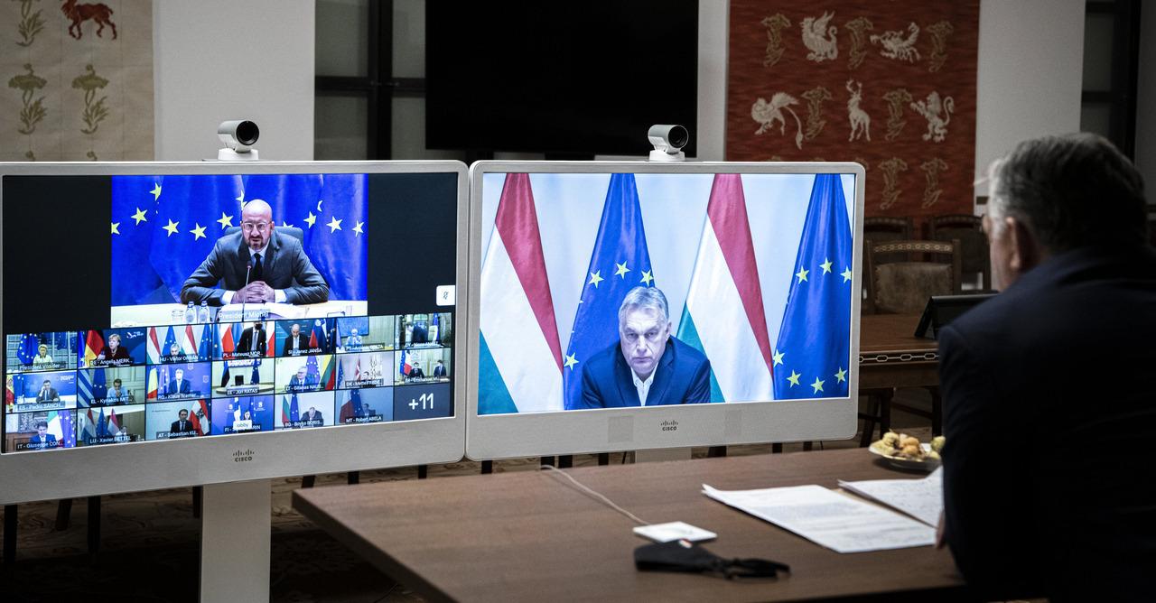Michel-Orbán-EU-budget
