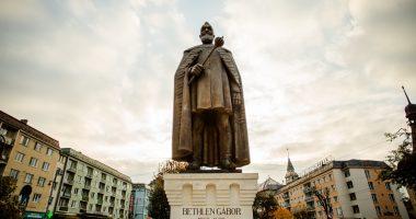 Transylvania Prince Bethlen's statue inaugurated in Marosvásárhely Targu Mures