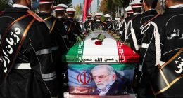"Iran accuses ""Israel of assassination of top nuke scientist"""