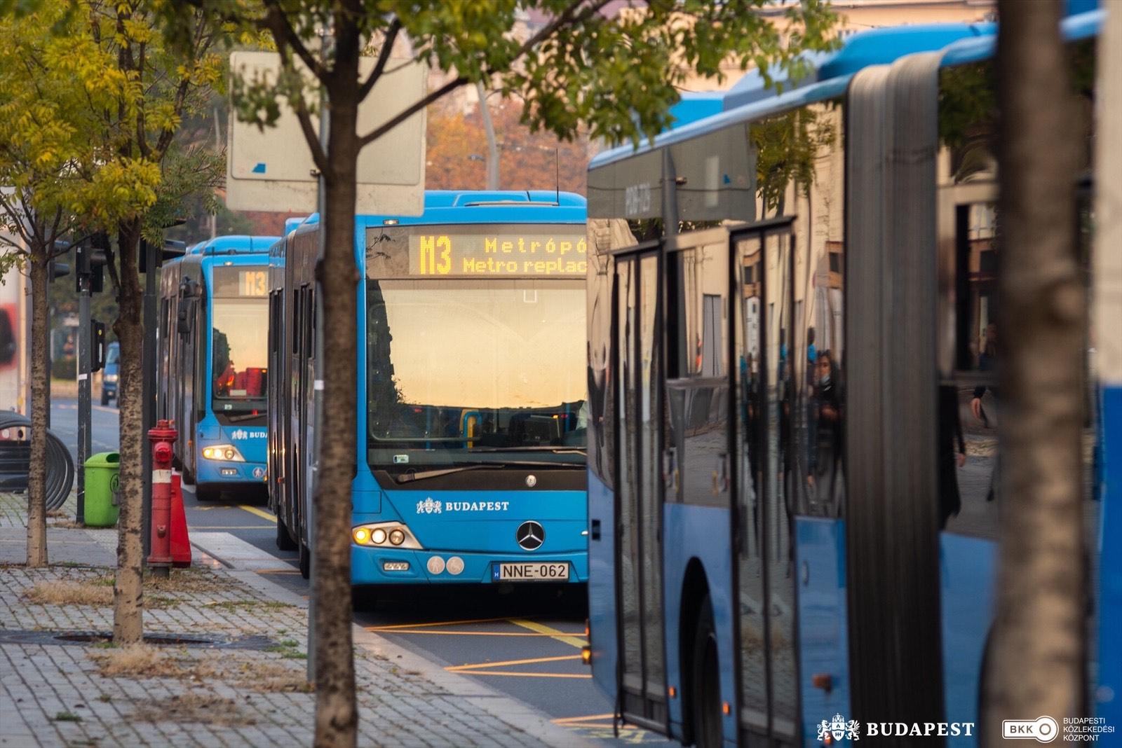 m3 metro bus budapest