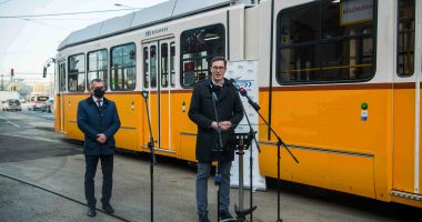 new tram line in budapest