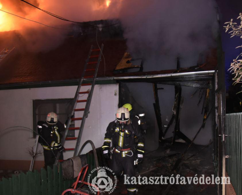 pazmany District 15 of Budapest fire pázmány street