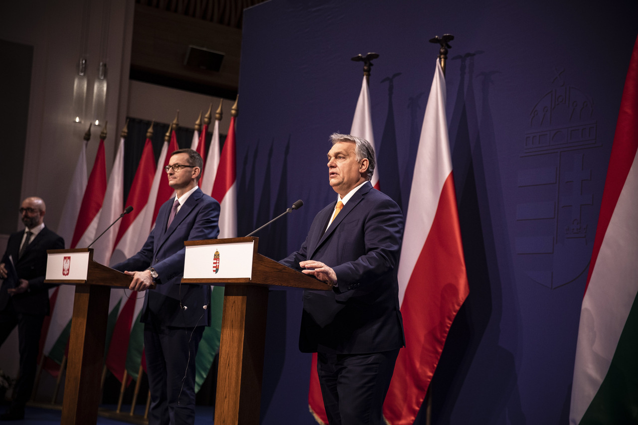 ORBÁN Viktor; MORAWIECKI, Mateusz