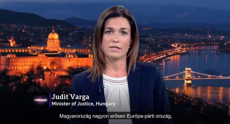 judit_varga_hard_talk bbc