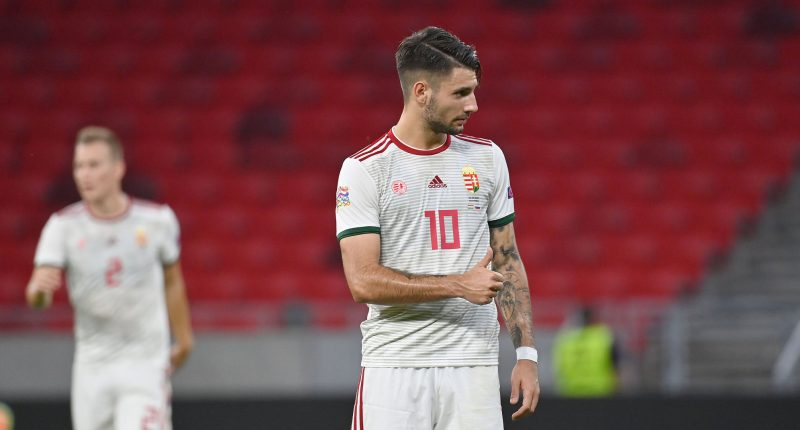 szoboszlai dominik hungary midfielder