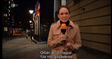 German Reporter Orbán