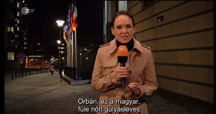 Reporter allemand Orbán